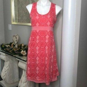 Athleta Vyasa Coral Dress, Size M